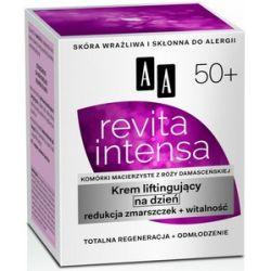 AA Revita Intensa 50+, Krem liftingujący na dzień redukcja zmarszczek, 50 ml...