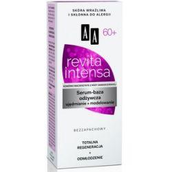 AA Revita Intensa 60+, Serum-baza odżywcza ujędrnienie + modelowanie, 50 ml...