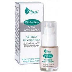AVA White Skin, Aktywny krem punktowy rozjaśniający przebarwienia, 15 ml...