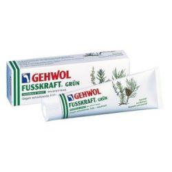 GEHWOL Fusskraft Grun, Balsam odświeżający do pocących się stóp, 125 ml...
