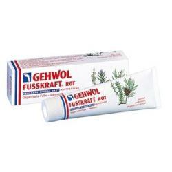 GEHWOL Fusskraft Rot, Balsam natłuszczający do zimnych i suchych stóp, 75 ml...