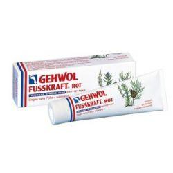 GEHWOL Fusskraft Rot, Balsam nawilżający do zimnych i normalnych stóp, 75 ml...