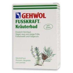 GEHWOL Fusskraft Krauterbad, Sól ziołowa do kąpieli stóp, 250 g...