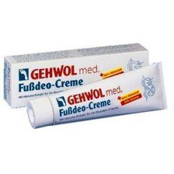 GEHWOL Med Fussdeo Creme, Krem silnie odświeżający do stóp, 125 ml...