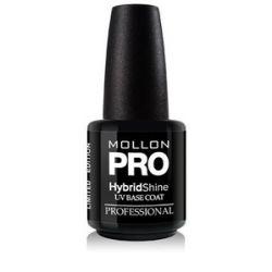 MOLLON Pro Hybrid Shine UV Base Coat, Baza pod lakier hybrydowy, 15 ml...