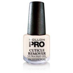 MOLLON Pro Cuticle Remover Ultra Fast Gel, Preparat do zmiękczania i usuwania skórek, 15 ml...