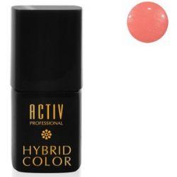 ACTIV Professional Hybrid Color, Lakier hybrydowy M01 Shimmer Coral Koralowy, 15 ml...