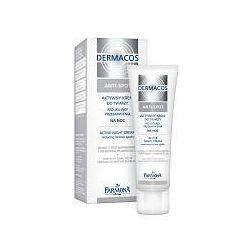 FARMONA Dermacos Anti-Spot, Aktywny krem do twarzy na noc redukujący przebarwienia, 50 ml...