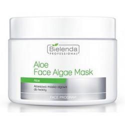 BIELENDA Professional, Aloesowa maska algowa, cera podrażniona, problematyczna, trądzikowa, 190g/500 ml...