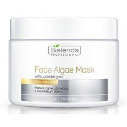 BIELENDA Professional, Ujędrniająca maska algowa z Koloidalnym Złotem, 190g/500 ml...