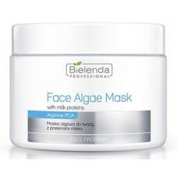 BIELENDA Professional, Maska algowa z Proteinami Mleka, cera sucha, 190g/500 ml...