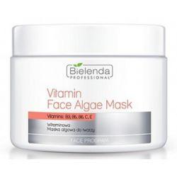 BIELENDA Professional, Witaminowa maska algowa z wapniem, każda cera dojrzała, 190g/500 ml...