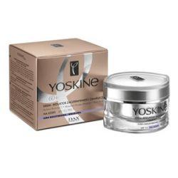 YOSKINE 60+, Krem - reduktor zaczerwienień i zmarszczek na dzień co cery naczynkowej i wrażliwej SPF 15 / PPD 7 50 ml...