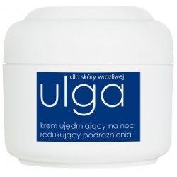 ZIAJA Ulga, Krem regenerujący do cery wrażliwej na noc wzmacniający naczynka krwionośne, 50 ml...