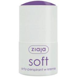ZIAJA Anty-perspiranty, Anty-perspirant w kremie Soft, 60 ml...