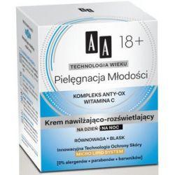AA Technologia Wieku 18+, Pielęgnacja Młodości Krem matująco - normalizujący na dzień i na noc, 50 ml...