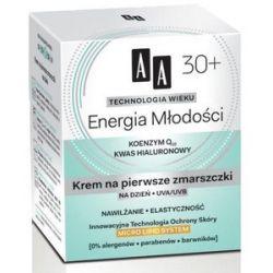 AA Technologia Wieku 30+, Energia Młodości Krem na pierwsze zmarszczki na dzień, 50 ml...