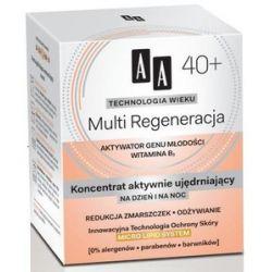 AA Technologia Wieku 40+, Multi Regeneracja Koncentrat aktywnie ujędrniający na dzień i noc, 50 ml...