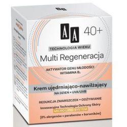 AA Technologia Wieku 40+, Multi Regeneracja Krem ujędrniająco - nawilżający na dzień, 50 ml...