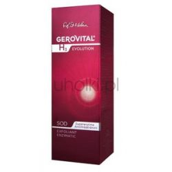 GEROVITAL H3 Evolution, Krem złuszczający - peeling enzymatyczny, każda cera 30+, 100 ml...