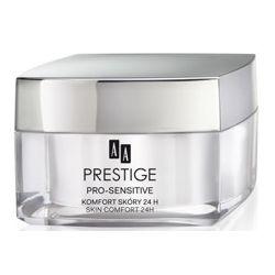 AA Prestige Pro-Sensitive, Komfort skóry 24h krem na dzień, cera bradzo wrażliwa i alergiczna, 50 ml...