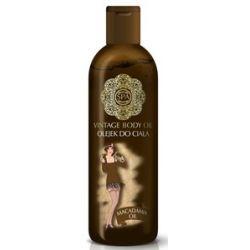 SPA Vintage Body Oil, Relaksujący olejek do ciała z olejem makadamia Macadamia Oil, 130 ml...