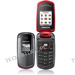 SAMSUNG E2210 Klapka/Dodatkowy wyświetlacz/Aparat/Tryb głośnomówiący - kolor czerwony