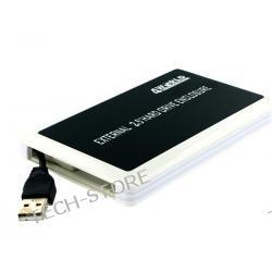 """OBUDOWA 2.5"""" NA DYSK SATA INTERFEJS USB BLACK/WHITE"""