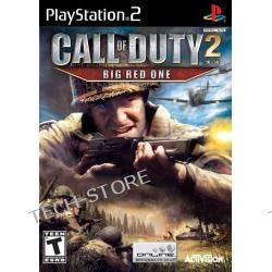 Gra PS2 Call of Duty 2 Big Red One Platinium