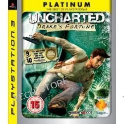 """Gra PS3 Uncharted Drake""""s Fortune Platinum"""