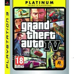 Gra PS3 GTA IV Platinum