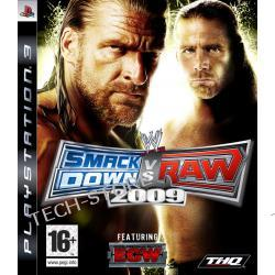 Gra PS3 WWE Smackdown vs. Raw 2009 Platinium