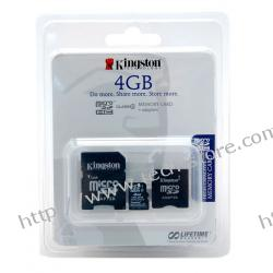 KINGSTON SDC 4/4GB+ 2*ADAPTER