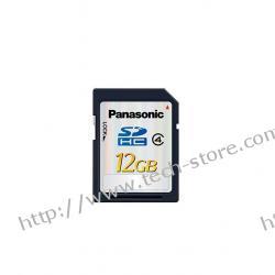 PANASONIC SECURE DIGITAL SDHC SD4/12GB 20MB/S