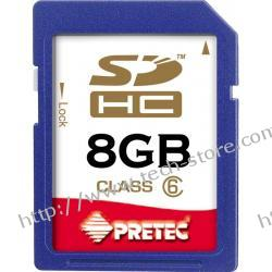 PRETEC KARTA PAMIĘCI SDHC 8 GB