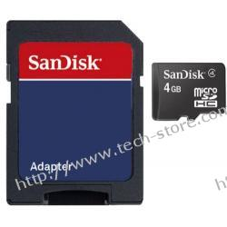 SANDISK SECURE DIGITAL MICRO SDHC 2GB +ADAP