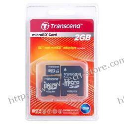 TRANSCEND MICRO SD 2GB+2 ADAPTERY
