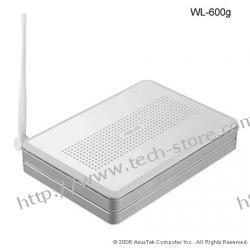 ASUS (WL-600G) ADSL2+ Modem/Router Wireless 54Mbps (linia analogowa np. Neostrada)