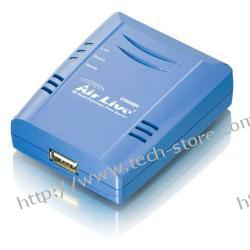 OVISLINK AirLive [ P-201U ] Print Serwer [ 1x USB, 1x LAN ]