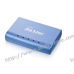 OVISLINK AirLive [ ARM-201-A ] Modem/Router ADSL2/2+ [ 1x LAN, 1x RJ-11, 1x USB ][ Annex A ]