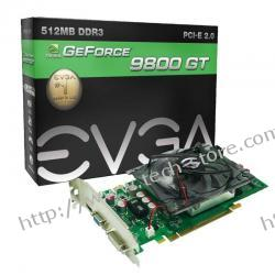 EVGA GF GTS 250 512MB DDR3/256b D/H PCI- E
