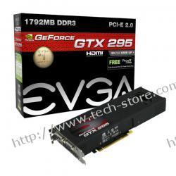 EVGA GeForce GTX 295 1792MB DDR3/896bit DVI PCI-E (684/2160) (ver. CO-OP FTW)