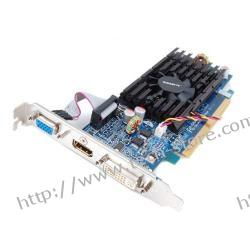 GIGABYTE GeForce 210 512MB DDR2/64bit DVI/HDMI PCI-E (650/800) (ver. OC - Over Clock)