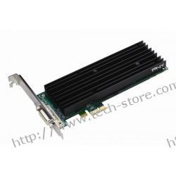 PNY Quadro NVS 290 256MB DDR2/64bit DVI PCI-E (460/800) (Low Profile) (chłodzenie pasywne)