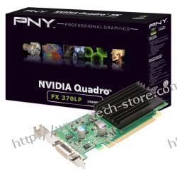 PNY Quadro FX370 256MB DDR2/64bit DVI PCI-E (540/1000) (Low Profile)