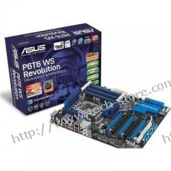 ASUS P6T6 WS REVOLUTION Intel X58 LGA 1366 (6xPCX/DZW/2xGLAN/SATA/RAID/DDR3/3-Way SLI/Quad CrossFireX)