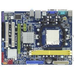 ASROCK A780LM-S AMD 760G (RS780L) Socket AM2+ (PCX/VGA/DZW/LAN/SATA/RAID/DDR2/CrossFireX) mATX