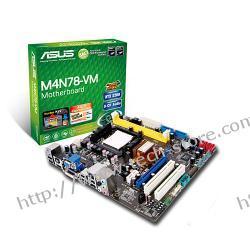 ASUS M4N78-VM GeForce 8200 Socket AM2+ (PCX/VGA/DZW/GLAN/SATA/RAID/DDR2) mATX