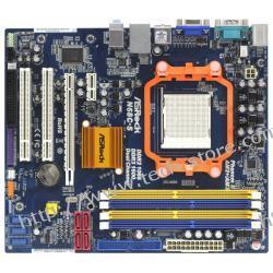 ASROCK N68C-S GeForce 7025 AM3 (PCX/VGA/DZW/LAN/SATA/RAID/DDR2/DDR3) mATX