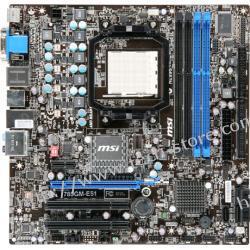 MSI 785GM-E51 AMD 785G Socket AM3 (VGA/PCX/7.1/GLAN/SATA/RAID/DDR3) mATX
